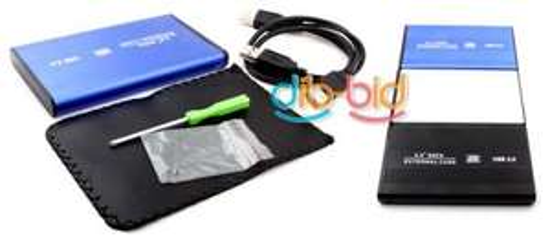 """(CN) 2.5"""" SATA USB Gehäuse mit Tasche und Schraubendreher für 3,02€ @Ebay"""