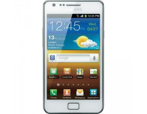 Samsung Galaxy SII weiß - edit: Doppeldeal