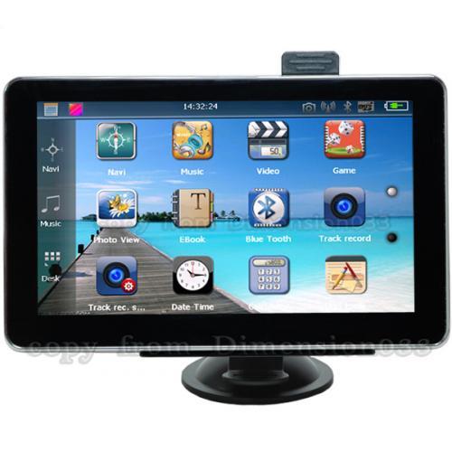 """7"""" Navi (468MHz, 128MB RAM) mit 800x480, 47 Länder, Bluetooth, Videoaufnahme, FM-Transmitter, Windows CE 6.0 für 80€ bzw. 95€ mit Zoll"""