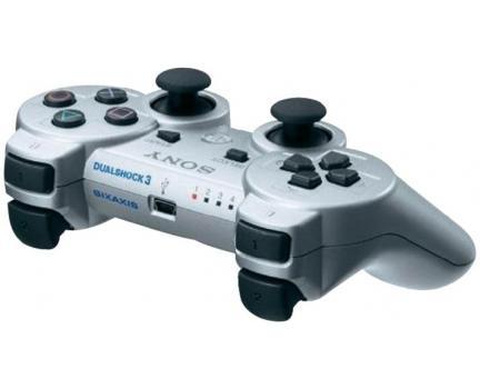 PS3 Dualshock Wireless Controller Silber für 35€ @SMDV