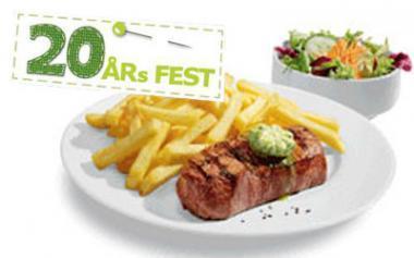 [Lokal Ikea Essen]RUMPSTEAK mit Kräuterbutter, knusprigen Pommes frites  und einem kleinen Salat für 5.90€ und 5 € Einkaufsgutschein für die ersten 300 Kunden die am 7.4. ein Hauptgericht bezahlen