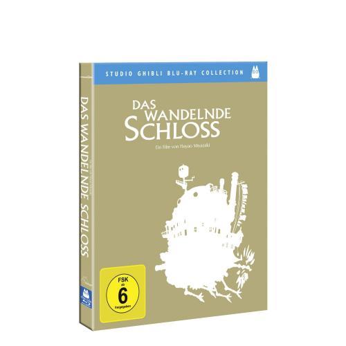 [ Blu-ray ] Das wandelnde Schloss (Studio Ghibli Blu-ray Collection) für 9,99 EUR inkl. Versand @ Amazon.de