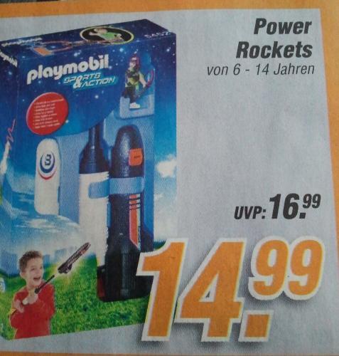 Playmobil Power Rockets bei Plaza(lokal Norddeutschland) für 14,99€