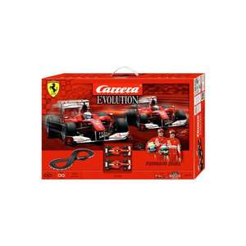 Carrera Ferrari Duel Evolution (Schwarz, Rot) für 52€ @expert