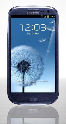 Samsung Galaxy S3 LTE + NFC i9305 16GB Pebble Blue  @getgoods.de 394€