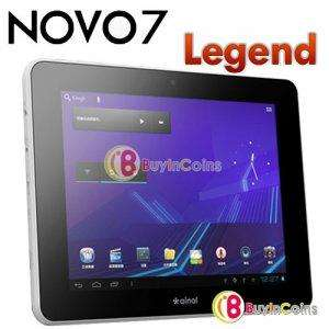 "[China @ buyincoins.com ] 7"" Ainol Novo 7 Legend Android 4 Tablet Multicore 1GHZ CPU 512 MB Ram 8 GB für ca. 61,00 Euro"