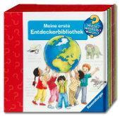 """Weltbild / Amazon: Ravensburger - Wieso? Weshalb? Warum? - 10 Büchlein """"Meine erste Entdecker-Bibliothek"""" im Pappschuber ab 5,00 Euro"""
