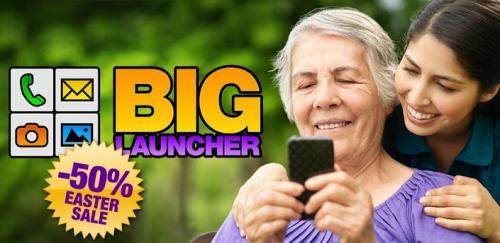 BIG Launcher @ Google's Play App-Store 50% OFF