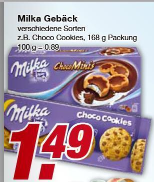 Milka Kekse bei Edeka [auch Marktkauf]  mit Gutschein nur 0,49€