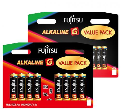Fujitsu Alkaline Batterien MegaPacks - Stück zu 18 Cent billiger als beim Discounter