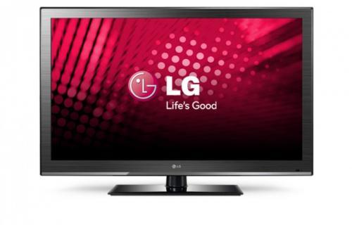 LG 42CS460 107 cm (42 Zoll) LCD-Fernseher, EEK C (Full HD, 100Hz MCI, DVB-T/C) schwarz