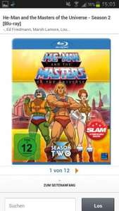 (Amazon) He-Man and the Masters of the Universe - Season 2 [Blu-ray]