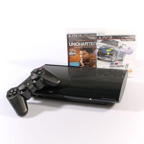Sony Playstation 3 Super Slim 500GB + Uncharted 3 + Gran Turismo 5 für nur 225,- EUR inkl. Versand