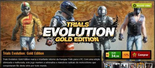 [Nuuvem] Trials Evolution: Gold Edition für 13,46 €