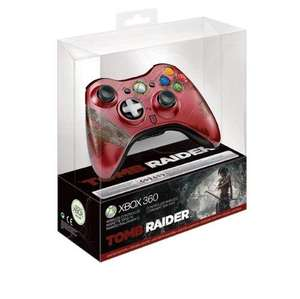 (Amazon) Limited Xbox 360 Controller Tomb Raider Edition für 39,99 €