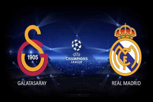 Real Madrid vs Galatasaray Istanbul [Via SF2 @Schönerfernsehen]