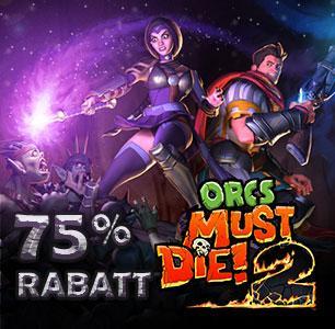 [STEAM] Midweek Madness: Orcs Must Die! für 2,49€ / Orcs Must Die! 2 für 3,74€ / Orcs Must Die! + Orcs Must Die! 2 + alle DLCs für 7,49€