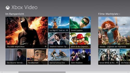 kostenlos leihen/anschauen @ Xbox 360 Video App Dashboard und Win 8 Video App