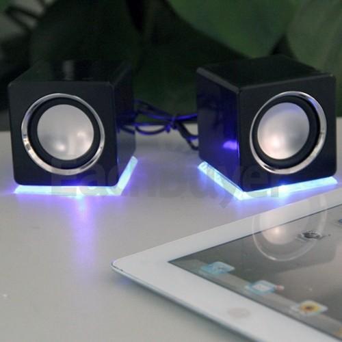 Mini Lautsprecher Boxen in Schwarz für 8,10€ inkl. Versand