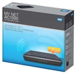 Western Digital My Net AC1300, WLAN Router 1300Mbps (MIMO) Dual Band (simultan)