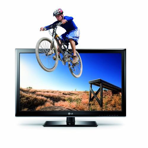 LG 32LM3400 80 cm (32 Zoll) Cinema 3D LED-Backlight-Fernseher, EEK A+ (HD Ready, 100Hz MCI, DVB-T/C) schwarz