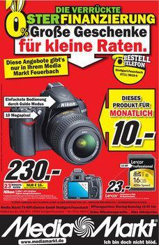 [Lokal Sindelfingen] Nikon D3000 + AF-S DX Nikkor 18-55mm