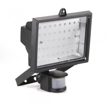 5W 45LED IR Sensor Außenstrahler Gartenlampe Weiß 240V IP54 für nur 23,68Euro inkl. VSK