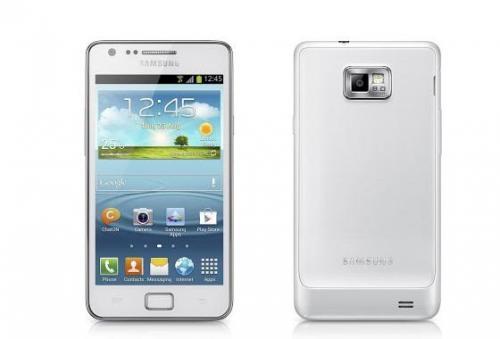 Samsung Galaxy S2 Plus - S2 facelift in weiß für 250 EUR [ibood]