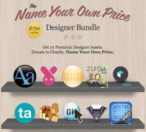 Das Name Your Own Price Designer Bundle von Stacksocial