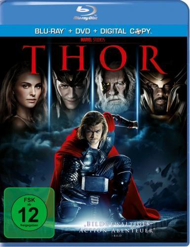 Marvel's Thor [Blu-ray] (+ DVD + Digital Copy) für 8,97€ @Amazon.de