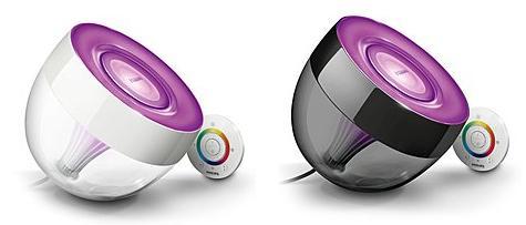 Philips LivingColors Iris Clear oder Black für nur 56,80€ inkl. Versand - Idealo: 75€  - 8% Cashback