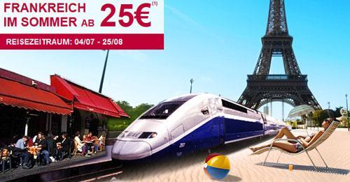 Frankfreich mit dem TGV ab 25 €