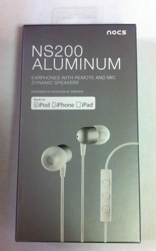 Nocs NS200 Aluminium In-Ear Headset für 24,99€ inkl. Versand  [ebay.de] -36%!!!
