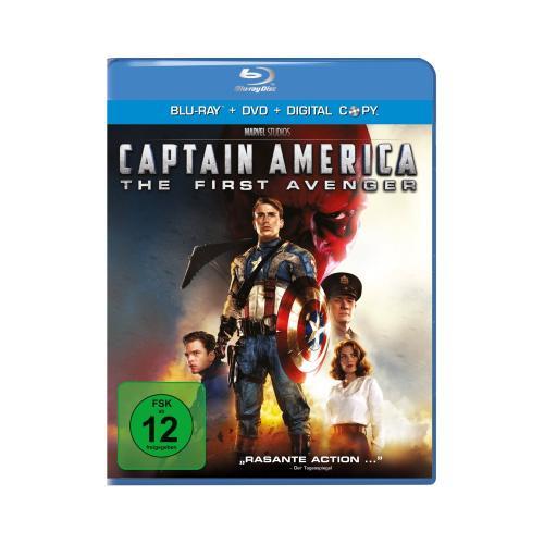 Marvel's Captain America - The First Avenger [Blu-ray] (+ DVD + Digital Copy) für 8,97€ @Amazon.de