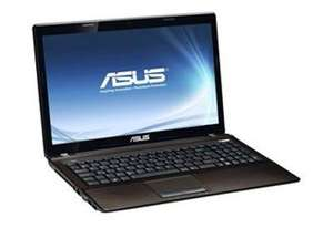 ASUS X53SD-SX1171V Notebook 39,6 cm (15,6 Zoll) braun Windows 7 Home Premium