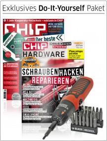 19-teiliges Stabschrauber-Set von Black & Decker + CHIP mit DVD 04/13 und Hardware-Special für 17,95€