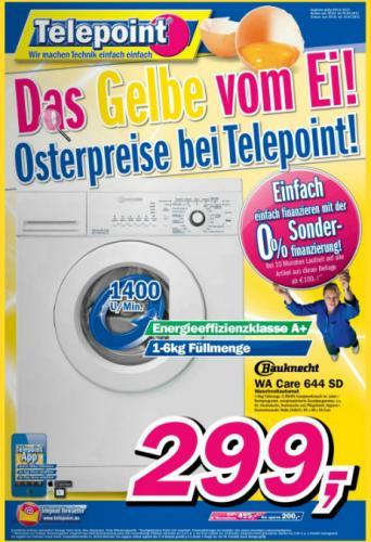 Waschmaschine  Bauknecht WA Care 644 SD Waschvollautomat