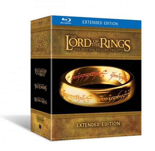 BLU-RAY Der Herr der Ringe - Special Extended Editions mit 6 Blurays + 9 DVDs für nur 35,32 EUR inkl. Versand [UK]