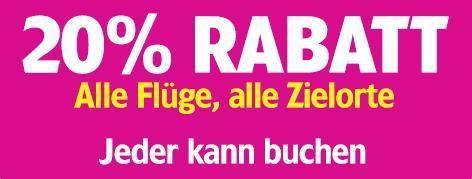 20% auf alle Wizzair-Flüge (bis Sonntag)