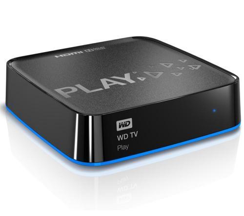 WESTERN DIGITAL Multimedia-Player WD TV PLAY 60,90€