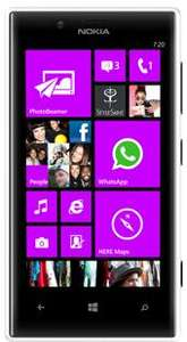 NOKIA Lumia 720 für 316,80 €