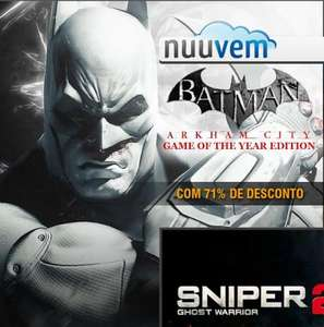 [Nuuvem] Batman Arkham City GOTY für 6,53 €