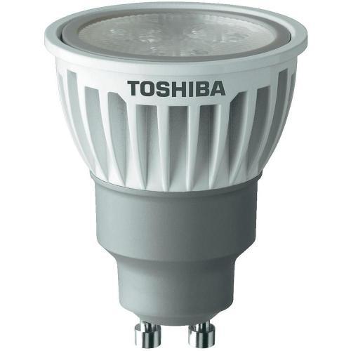 Toshiba LED GU10 6.5 W Kalt-Weiß Reflektor