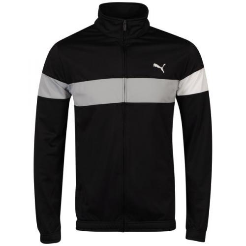 "Puma™ - Herren Trainingsjacke ""Block Stripe"" (Schwarz) für €15,93 [@Zavvi.com]"