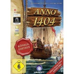 (AMAZON) ANNO 1404 Königsedition Download -Version für 13,97€