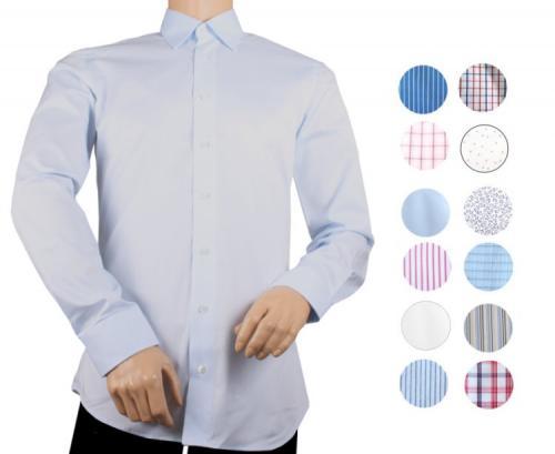 [ebay.de] Daniel Schagen Private Label Seidensticker Langarm Business Freizeit Hemd S-XL für Herren nur 14,99 Euro