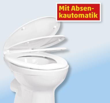 WC-Sitz von Duroplast mit Absenkautomatik ab Montag @ Penny bundesweit