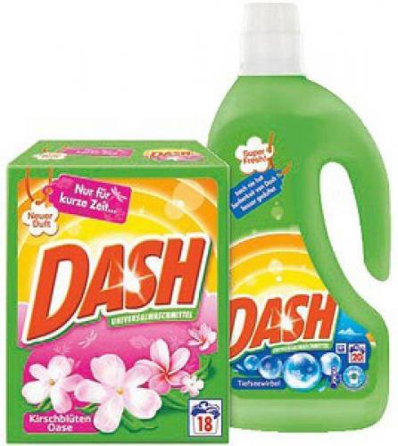 Dash Waschmittel bei Rossmann für 1,49 Euro mit coupon