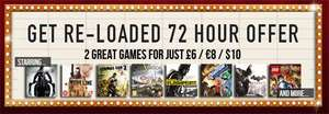 2 Steam Games für 8 Euro zb. Darksiders II + Borderlands GOTY oder Serious Sam 3: BFE