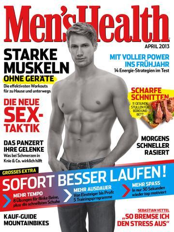 (iOS) Men's Health Leseprobe, eine kostenlose Ausgabe
